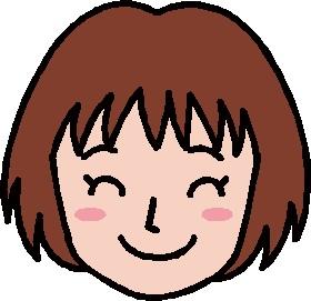 女(スマイル)