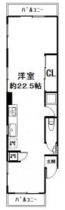 御中ヴィラ201号室