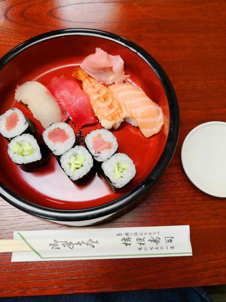 京都の桔梗寿司