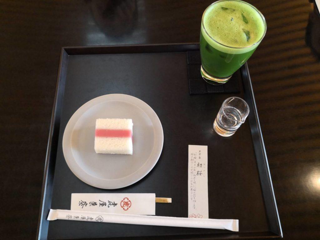 京都とらやお菓子
